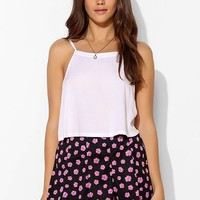 Pins And Needles Pane Knit Circle Skirt - Urban Outfitters