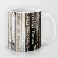 Book Drunkard Mug by Ally Coxon