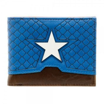 Captain America Costume Wallet
