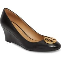 Tory Burch Chelsea Logo Medallion Wedge (Women) | Nordstrom