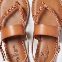 AEO Women's Braided & Wide Strap Sandal