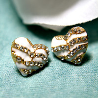 Romeo's Heart Earrings