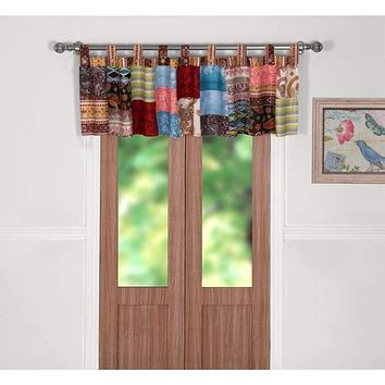 Bohemian Dream Window Valance -Greenland Home Fashions