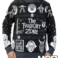 Twilight Zone Sweater