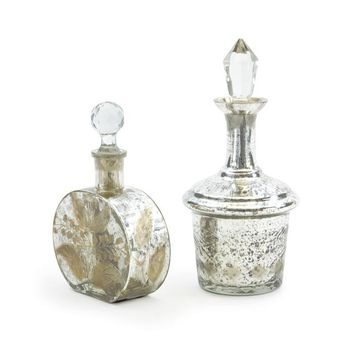 Set of Two Vintage Perfume Bottles