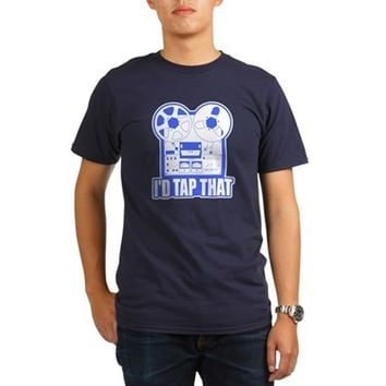 I'd Tap Tha Organic Men's T-Shirt (dark)