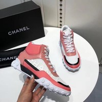 New Fashion Double C High Top Sneaker Reference #146 - Ready Stock