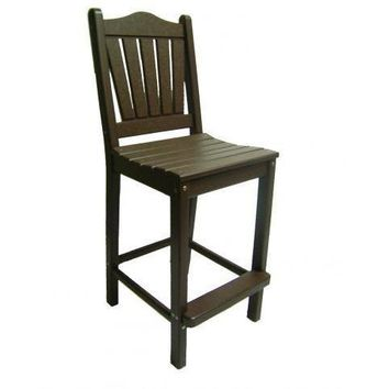 Perfect Choice Outdoor Furniture Traditional Bar Height Chair