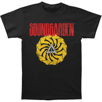 Soundgarden Men's  Badmotorfinger Soft T Slim Fit T-shirt Black