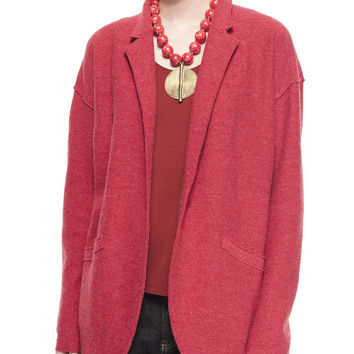 Lightweight Boiled Wool Jacket, Size:
