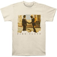 Pink Floyd Men's  Wishing T-shirt Cream