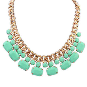 Shiny Gift Jewelry New Arrival Stylish Simple Design Sweets Necklace [6586315271]