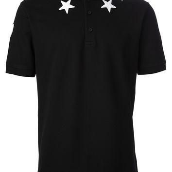 Givenchy Star Detail Polo Shirt