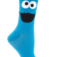 Cookie Monster Crew Socks