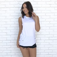 Torn By Your Love Top in Ivory