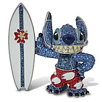 Surfin' Stitch Jeweled Figurine by Arribas