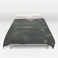 Don´t stare Duvet Cover by HappyMelvin