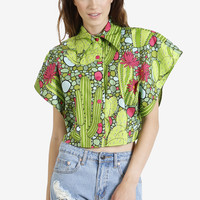Cactus Print Blouse By Rojas