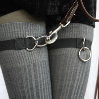 Socks by Sock Dreams » .Accessories » Sock Garters » Snappy D Ring Garters