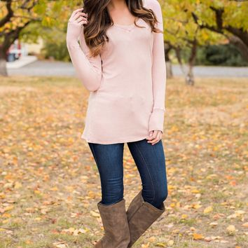 Cole Thermal Top (Peach)