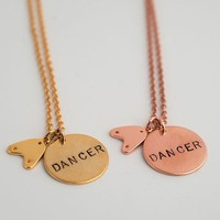 Tap Dancer Necklace