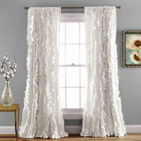 Belle Window Curtain White