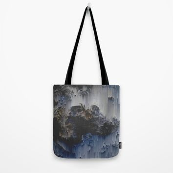 Fossilized Tote Bag by DuckyB