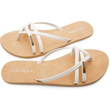 Volcom Lookout 2 Women's Sandals - White