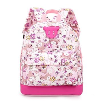 Cartoon bear Kid Backpack For girl School Bag Kindergarten Baby Student School Boy Cute bear Backpack Book Bag mochila escolar