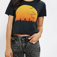 Urban Outfitters - Feather Hearts Living After Midnight Tee