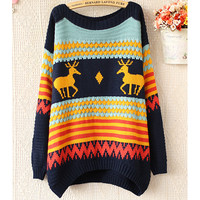 Vintage fawn pullover JBICD