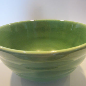 Bauer American Mixing Bowl Ring Ware Green Pottery