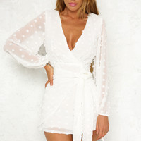 Snow Patrol Dress White