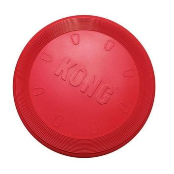 KONG Original Flyer Rubber Flying Disc Dog Toy Sz: Small