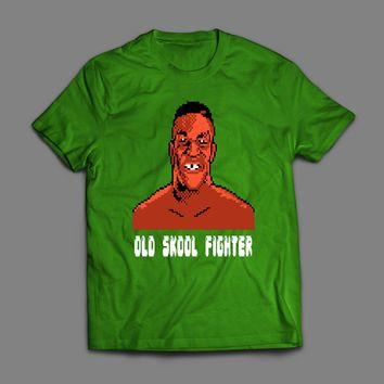 MIKE TYSON'S PUNCH OUT 8-BIT OLD SKOOL FIGHTER T-SHIRT