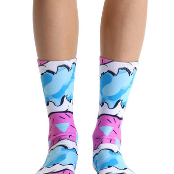 Surf Rips Crew Socks