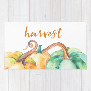 harvest Rug by Sylvia Cook Photography