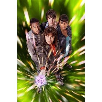 Sarah Jane Adventures poster Metal Sign Wall Art 8in x 12in
