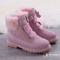 UGG Women Fashion Fur Leather Winter Snow Boots Shoes