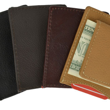 Magnetic Money Clip w/ credit card holder