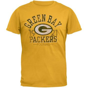 Green Bay Packers - Logo Fadeaway Premium T-Shirt