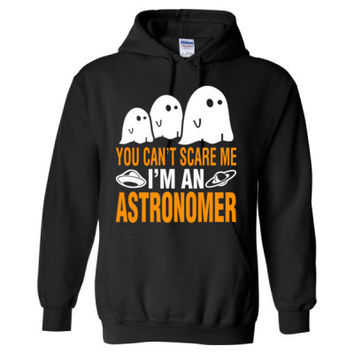 Halloween You Cant Scare Me I Am An Astronomer - Heavy Blend™ Hooded Sweatshirt