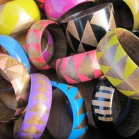 CUSTOM Bangle- Pick Your Color and Size