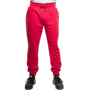 Rocksmith Currency Jogger Sweatpants Red