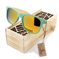 Women Wooden Sunglasses
