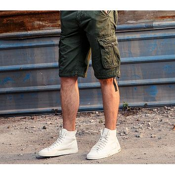 Men Cargo Shorts Men's Casual Shorts  Male Joggers Army Home