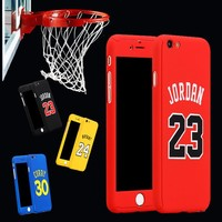 for iphone 6 case 360 kobe bryant curry full body case for iphone 7 plus 6 6s plus iphone7 michael jordan air 23 basketball case  number 4