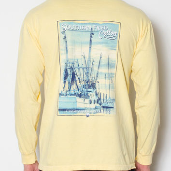 Southern Fried Cotton - Shrimp Boat Long Sleeve