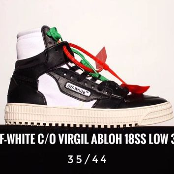 Off-White O Virgil Abloh 18SS Low 3.0 Sneaker