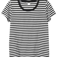 Monki | Tops | Sine striped tee